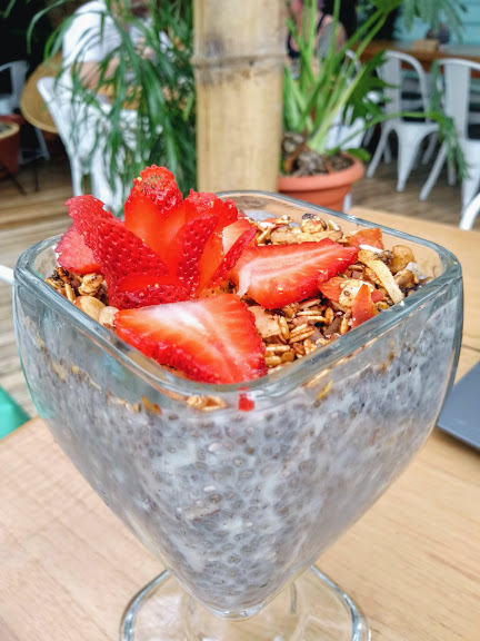 orgánico café la fortuna costa rica chia bowl
